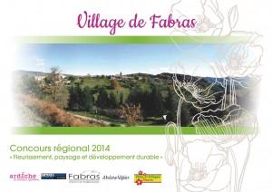 FABRAS concours villages fleuris