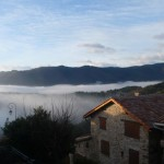 Village-brume matinale