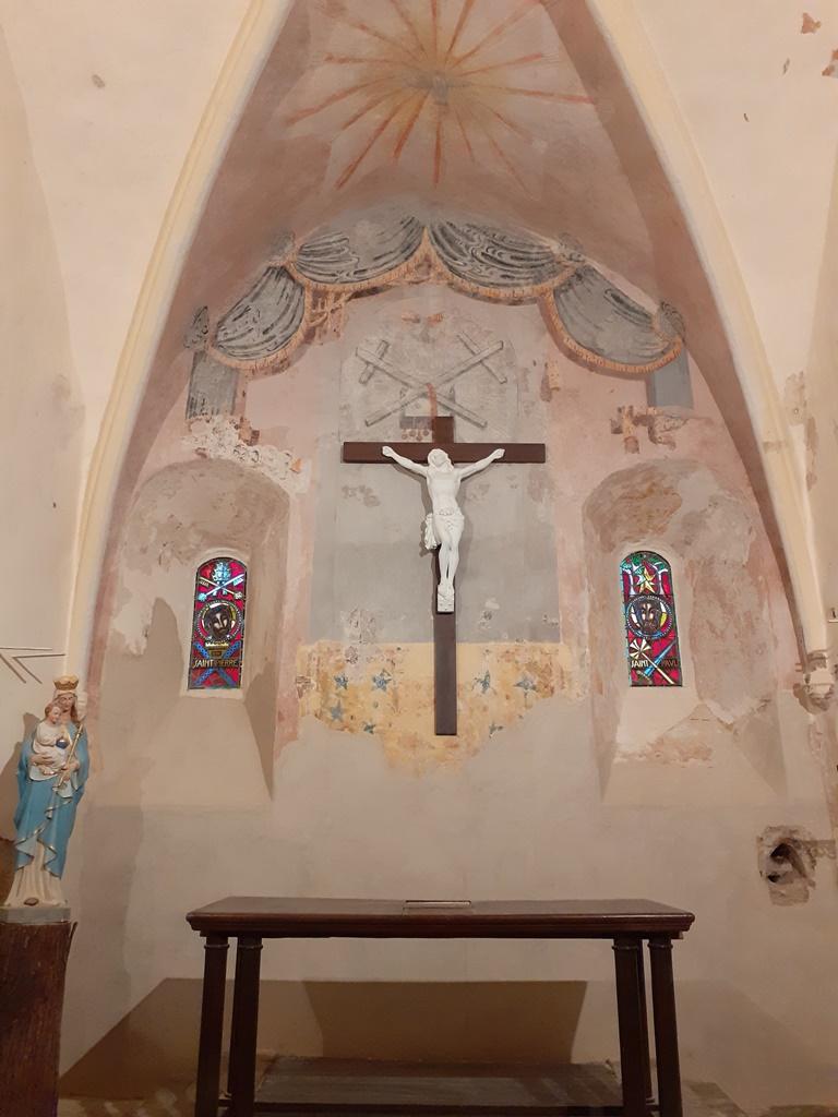 Eglise de Fabras aprés restauration 1024