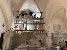 Rénovation peintures intérieures Eglise Fabras (1) 1024