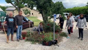 demie-journée citoyenne de mise en valeur des espaces verts du village